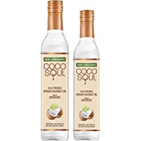 Coco Soul Cold Pressed Organic Virgin Coconut Oil, 500 ml with 250 ml Free