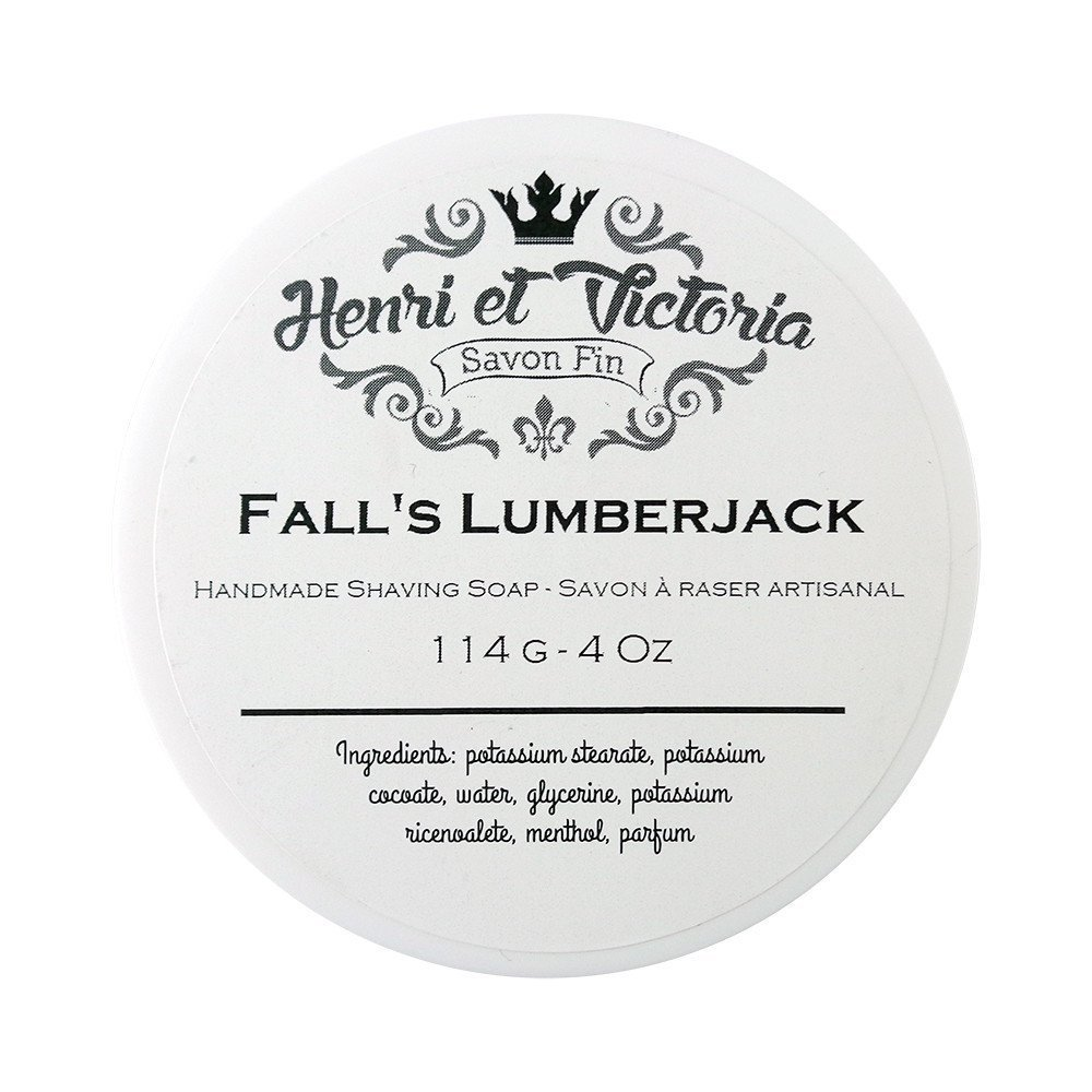 Fall's Lumberjack - Shaving Soap - 114g Henri et Victoria