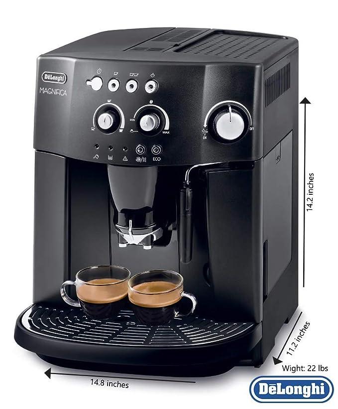 B Magnifica Bean to Cup Coffee Machine - Black  Amazon.co.uk  Kitchen   Home 49518cb68b8