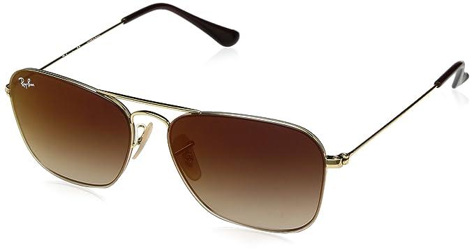 aaaac124c95 RAYBAN Unisex s 0RB3603 001 S0 56 Sunglasses