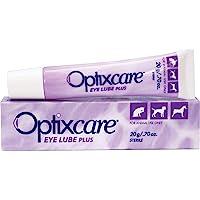 OptixCare Pet Eye Lube Plus + Hyaluron 20g for Dog Cat Horses