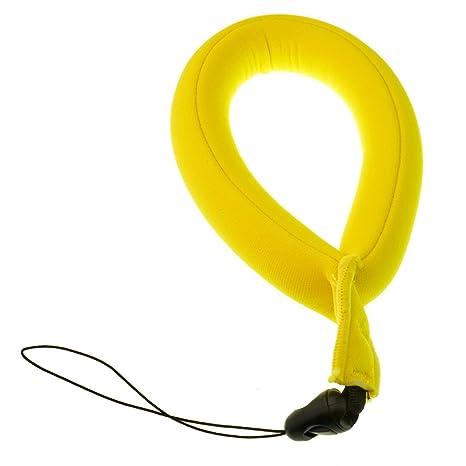 yookat impermeable cámara impermeable flotador espuma flotante Correa/flotante correa para la muñeca para Submarino