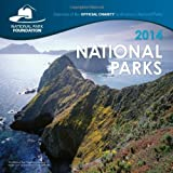 img - for 2014 National Parks Wall Calendar by National Parks Foundation (2013-07-01) book / textbook / text book