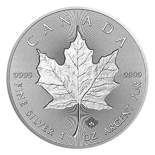 2019 Canadian Silver Incuse Maple Leaf Coin - Leaf Silver Canadian Maple