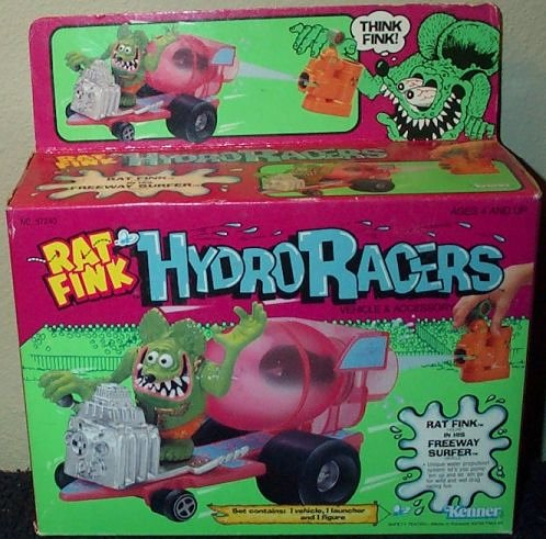 (Rat Fink Hydro Racers in Freeway Surfer Vehicle)