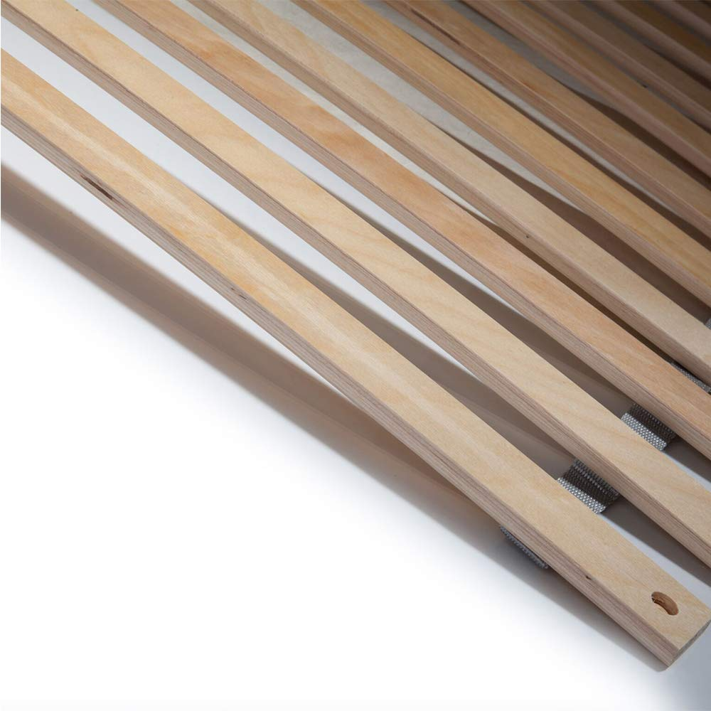 bis 150 Kg SunDeluxe Wood Bed Slats for mattresses in different sizes Size:80 x 200 cm FSC certified birch plywood 28 stable and flexible slats
