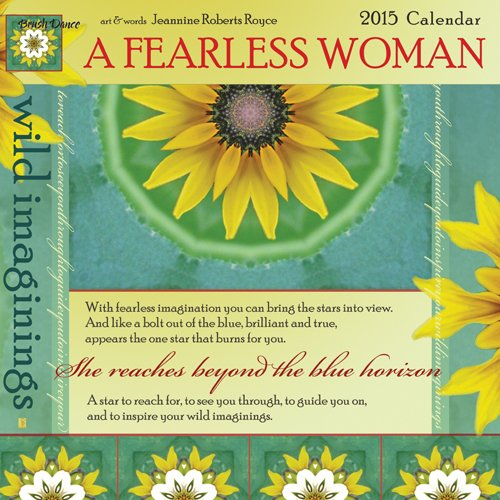2015 A Fearless Woman Mini Wall Calendar