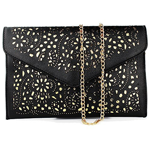 19e66686dd retro hollow cutout black womens handbags for women shoulder bag messenger  bag women s leather crossbody bags