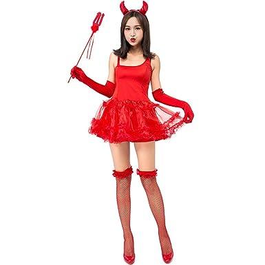 Amazon.com: Vestido para mujer, para Halloween, fiesta ...