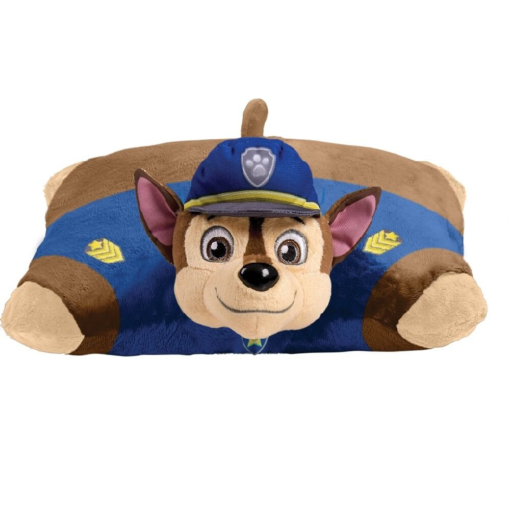 Pillow Pets Nickelodeon Paw Patrol, Chase Police Dog, 16'' Stuffed Animal Plush Toy by Pillow Pets (Image #2)