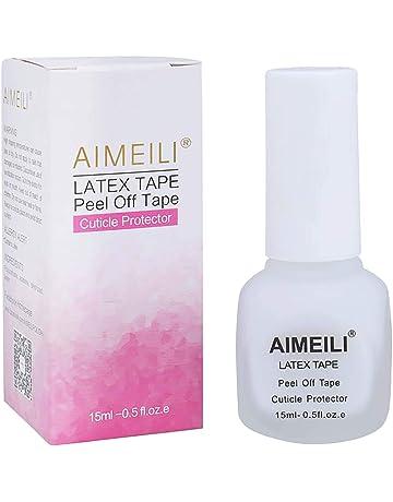 AIMEILI Látex Líquido Para Uñas Peel Off Stamping Nail Art Protección de la Piel y los