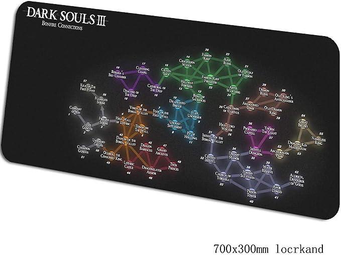 SKTCNB Dark Souls Alfombrilla De Ratón Alfombrilla para ...