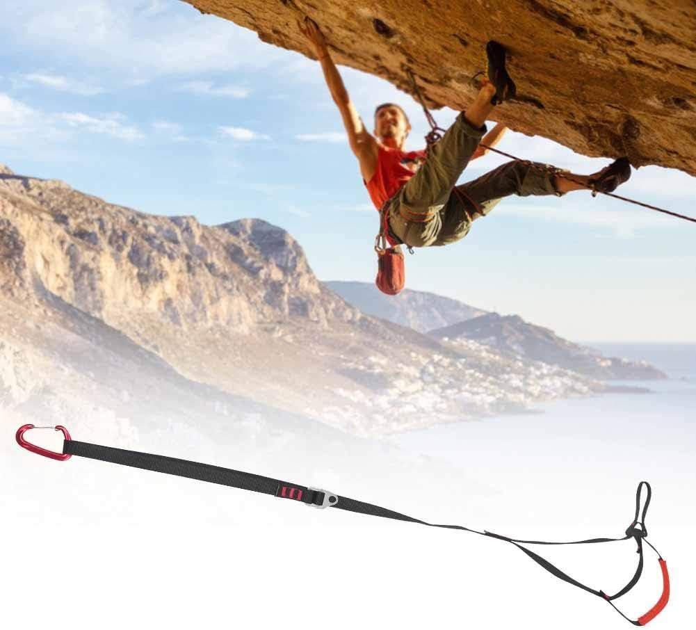 Outdoor Adjustable Climbing Ascender Strap Rope Foot Belt Rock Climbing Rappel