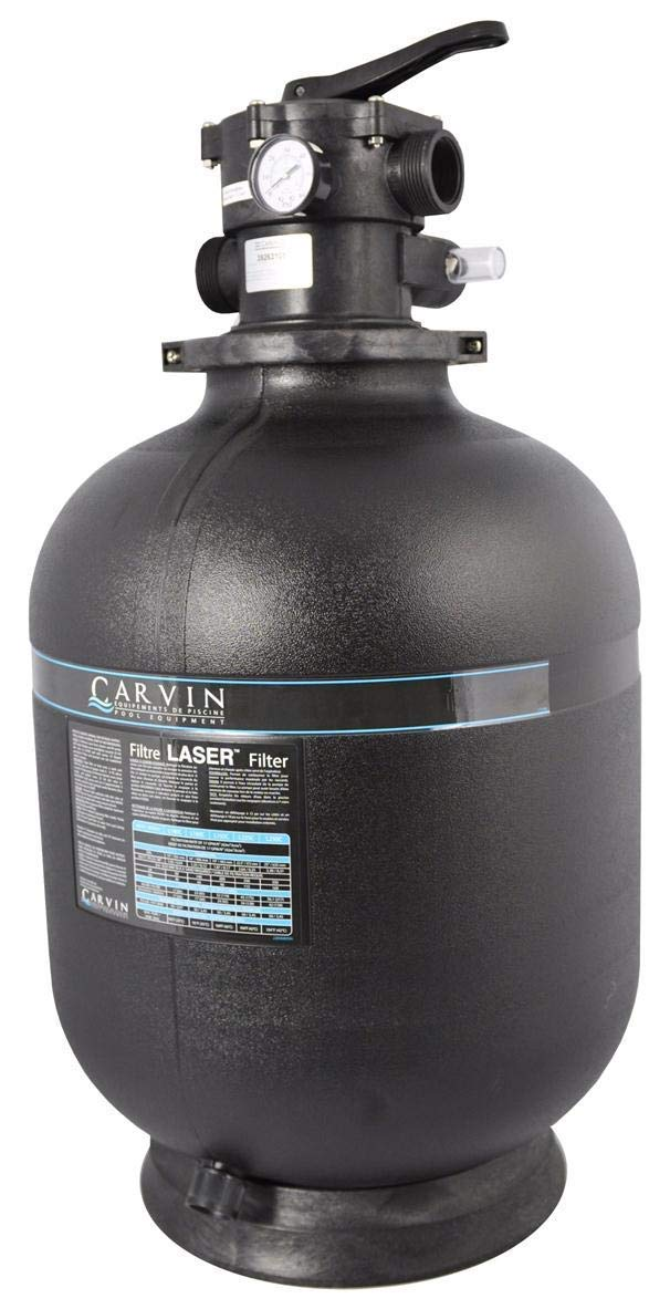 Jacuzzi Laser 25 Inch Sand Filter Tank with Valve