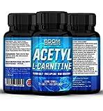 Acetil L-Carnitina 500mg | Tabletas fuertes de acetil-carnitina | 120 potentes cápsulas de refuerzo energético | Dosis para 4 meses COMPLETOS | Mejora tu rendimiento deportivo | Desarrolla la función cognitiva | Seguras y efectivas | Las pastillas de L-carnitina más vendidas |