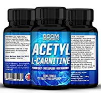 Acetyl L-Carnitine 500mg | Strong Acetyl-Carnitine Tablets | Powerful Nootropics | 120 Powerful Energy Boosting Capsules | FULL 4 Month Supply | Manufactured in UK
