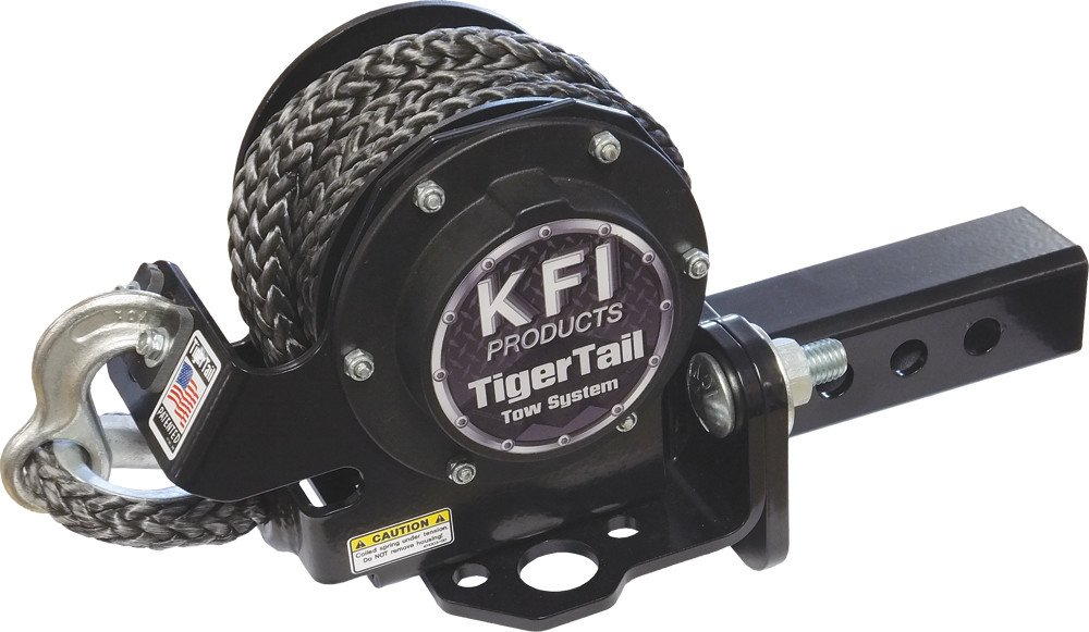 Tiger Tail Tow System Adjustable Mount Kit 1.25'' by Kfi