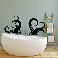 Vinyl Wall Decal Tentacles of Octopus Sea Animal Nautical Stickers