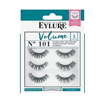 6b7c279efd0 Eylure Strip False Lashes No.101 (Volume) Multipack Pack Of 3 ...