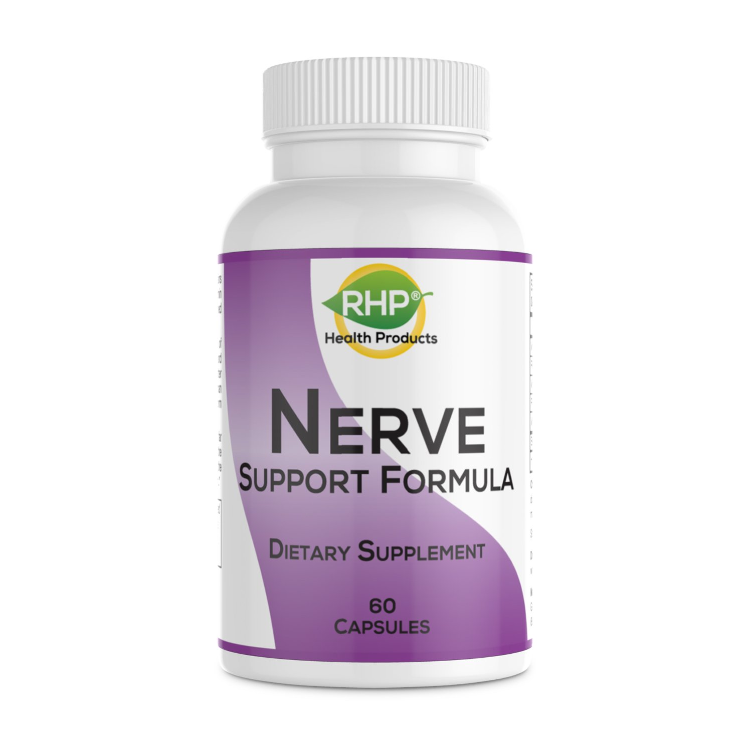 Nerve Support Formula for the Nutritional Support of Peripheral Neuropathy and Nerve Pain Relief. Extra Strength Capsules by RHP