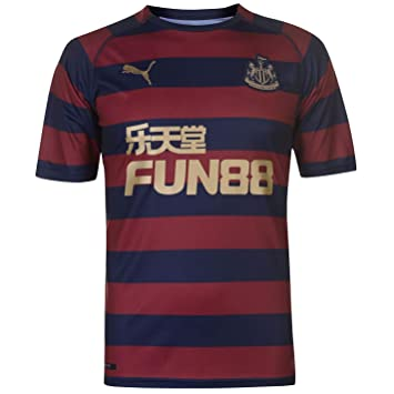 buy popular 7f887 16800 PUMA 2018-2019 Newcastle Away Football Soccer T-Shirt Jersey