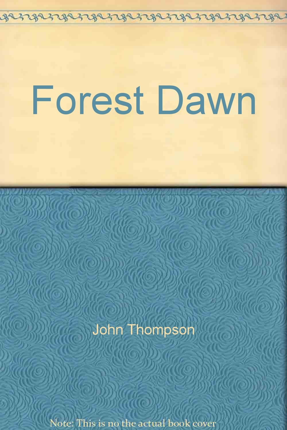 forest dawn john thompsons students series for the piano