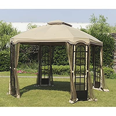 Sunjoy Replacement Canopy Set for 12x10ft Terrace Gazebo