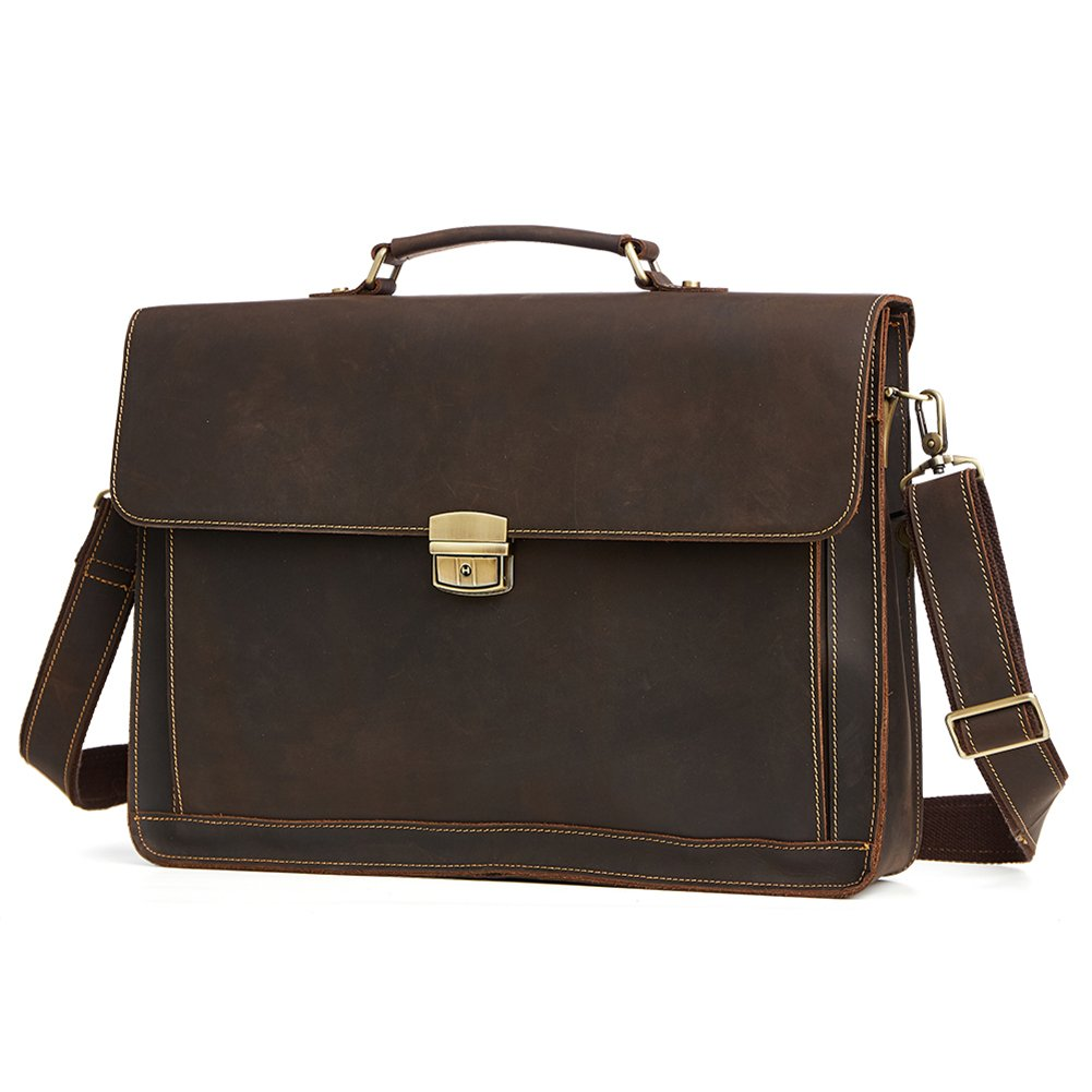 TOREEP Men's Business Bags Briefcases For Leather
