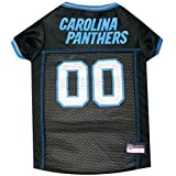 Pets First NFL CAROLINA PANTHERS DOG Jersey, Small