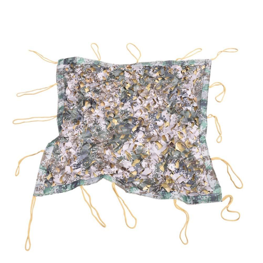 A 2x6m YANGJUN-Filet De Camouflage Crème Solaire Résistant à l'usure Anti-Âge Facile à Plier Camouflage Tissu Oxford Patio Balcon De Plein Air Personnalisable (Couleur   A, Taille   5x5m)