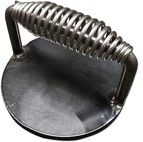 Heavy Duty Steak Press Burger Bacon Weight with Stainless Handle