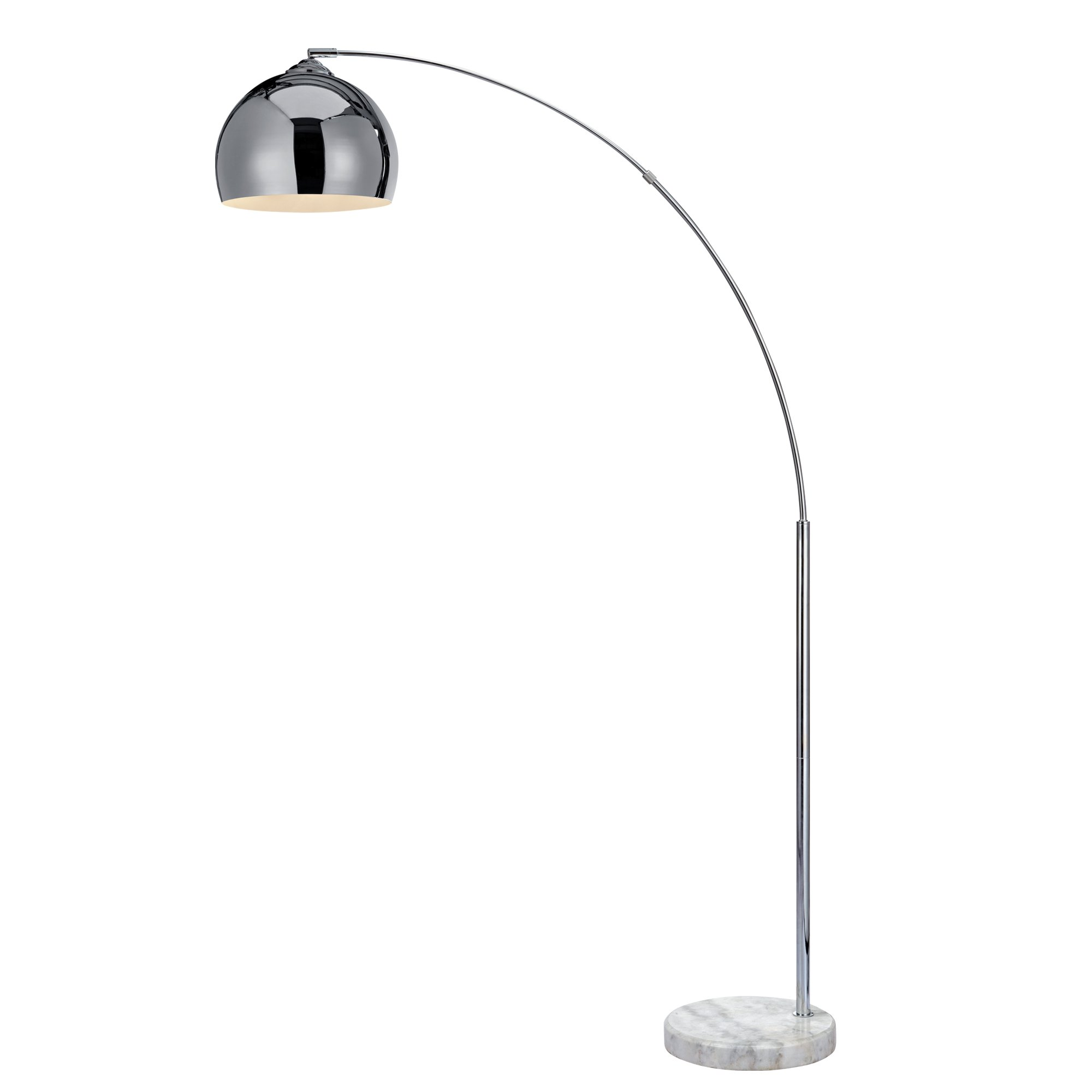Versanora VN-L00010 Arc Floor Lamps, Chrome