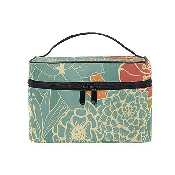 fda03a730b51 Amazon.com : OREZI Large Multifuncation Cosmetic Bag Makeup Travel ...