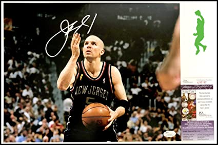 f1f3542539c8 Image Unavailable. Image not available for. Color  Jason Kidd Autographed  Signed Autograph 11x14 Photo Picture Basketball Nets Sports ...