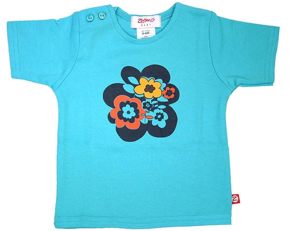 Zutano Alpine Flower Pool Short Sleeve T-shirt