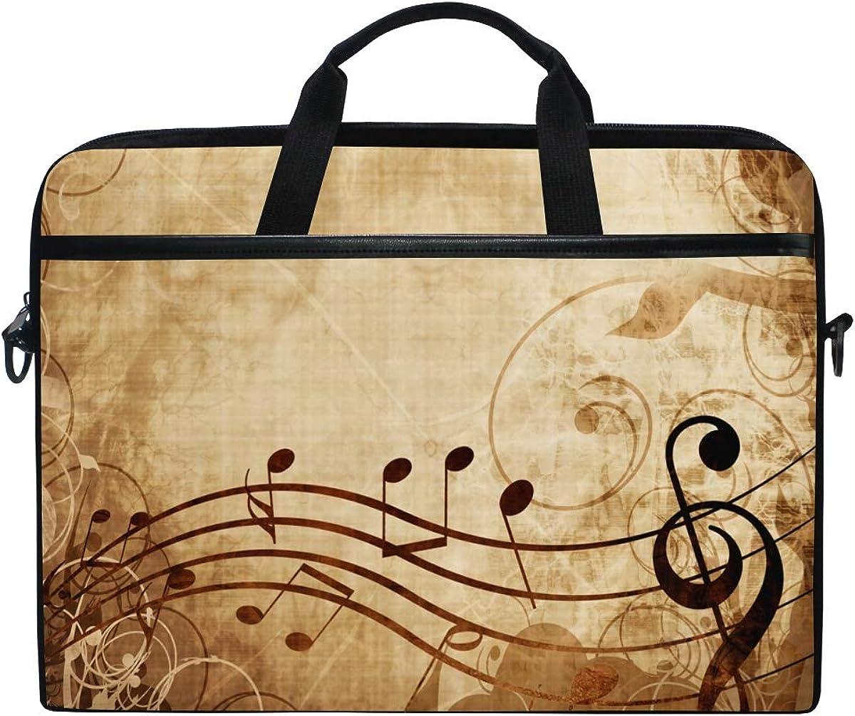 MRMIAN 15 inch Laptop Case Crossbody Bag Briefcase Messenger Sleeve