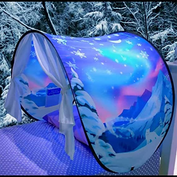 Childs Bed Carpa Kids Play Tent Playhouse Dream Tents para niños Chicos Chicas Diversión Juegos Regalos de Navidad y cumpleaños