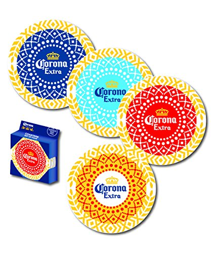 Corona Assorted Acrylic Coaster (Set of 4), ()