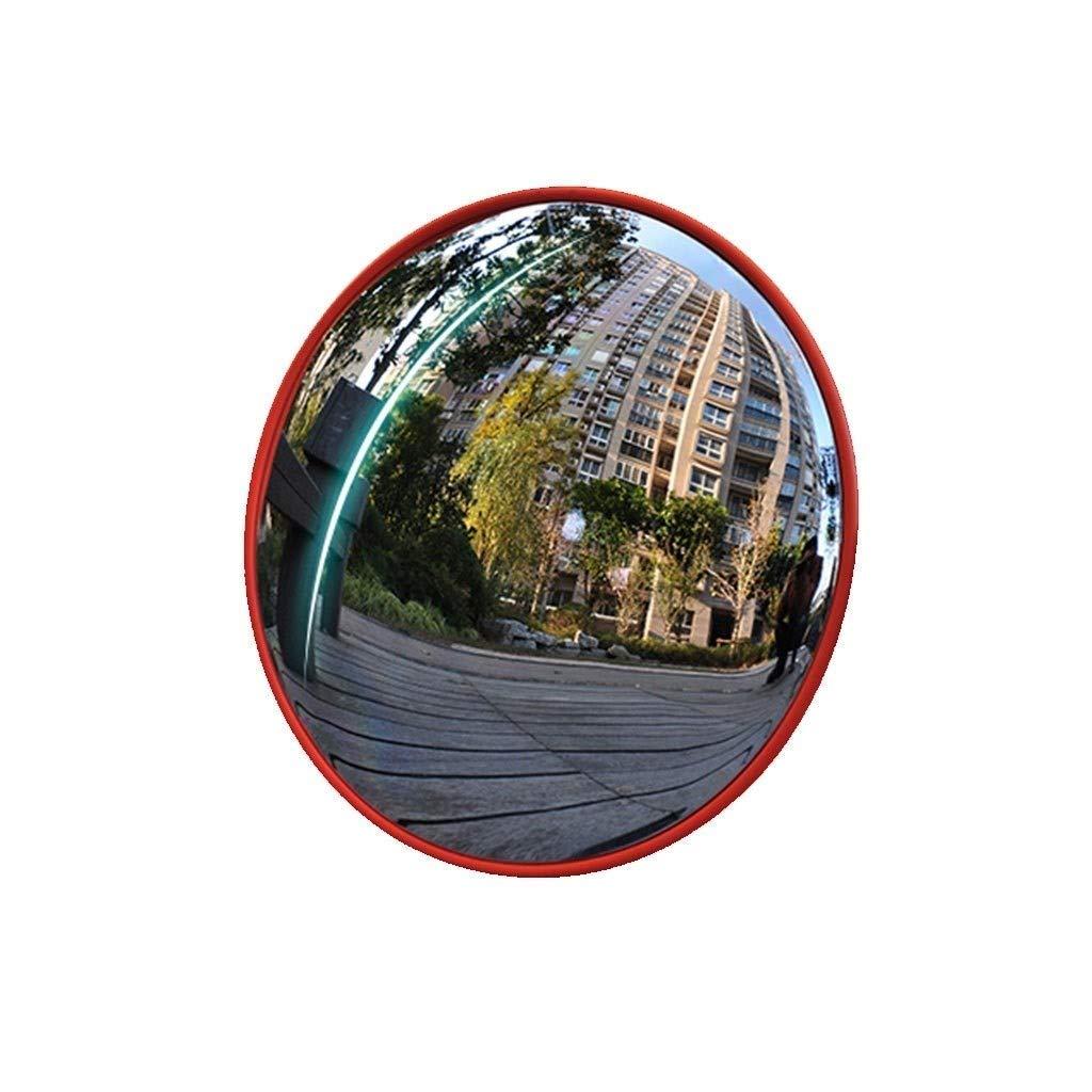 Geng カーブミラー 広角レンズブラインドスポット大型ラウンドミラーPCミラー屋内良質凸面取り付けが簡単監視壁取り付けコーナーブラインドスポット安全ミラー盗難防止ミラー、駐車場に適し、街角 80cm  B07TM9L9VX