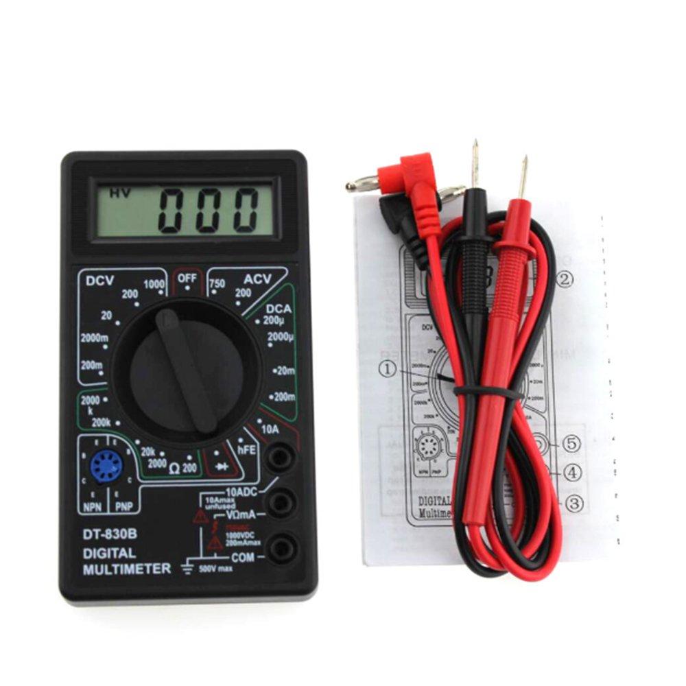 multifonction LCD multim/ètre num/érique Dt-830b /électrique Amp Volt Ohm testeur Outil