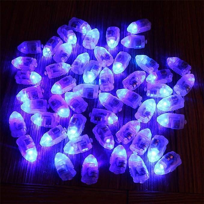 Amazon.com: HighlifeS - 20 bombillas LED para globos de ...