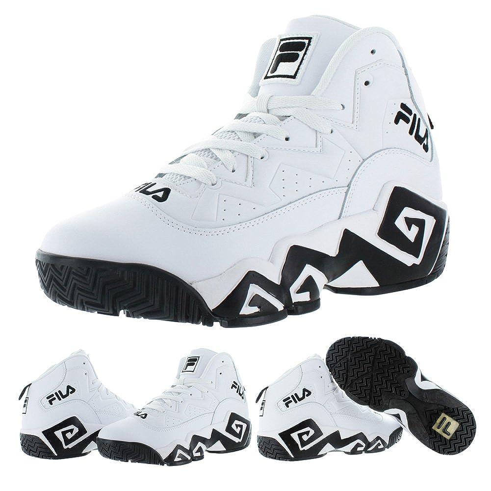 Amazon.com | Fila MB Jamal Mashburn Retro Mens Basketball Sneakers Shoes | Shoes