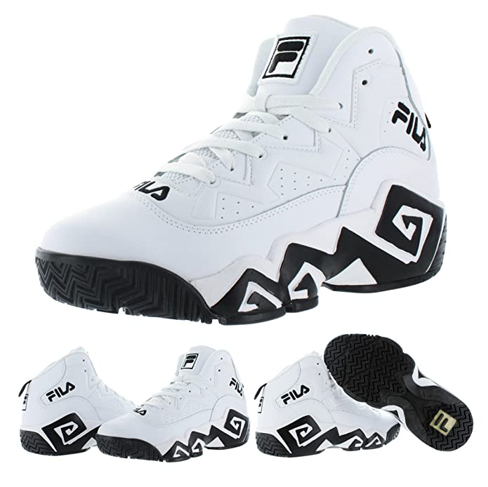 Amazon.com | Fila MB Jamal Mashburn Retro Mens Basketball Sneakers Shoes | Shoes