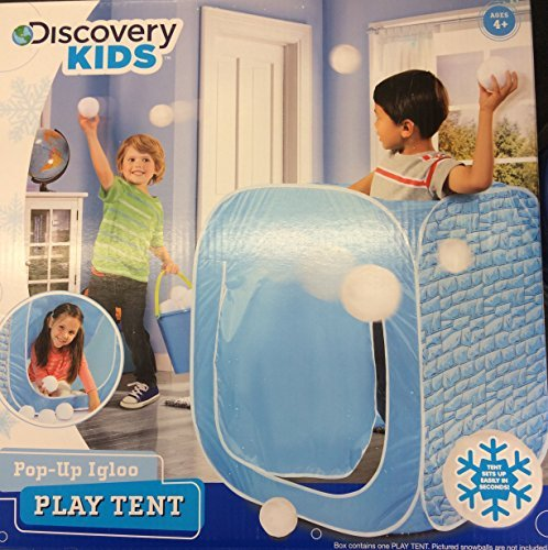 Discovery Kids Pop-up Igloo Play Tent by Discover Kids