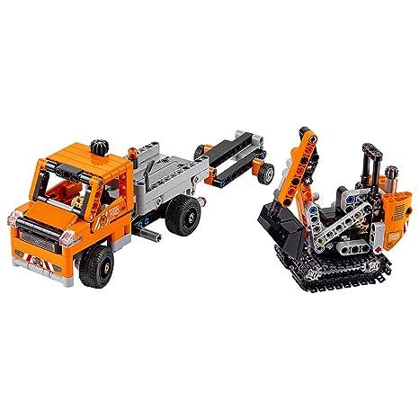 Amazon.com: LEGO Technic Roadwork Crew 42060 Construction Toy: Toys ...