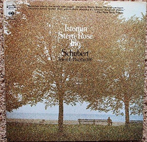Istomin / Stern / Rose Trio: Schubert Trio in E-Flat Op. 100, Eugene Istomin, Piano, Isaac Stern, Violin, Leonard Rose, Cello