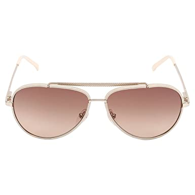 54e7447ae3c LACOSTE sunglasses LA 152S sunglasses 714 Light grey with ivory and pale  gold 58mm