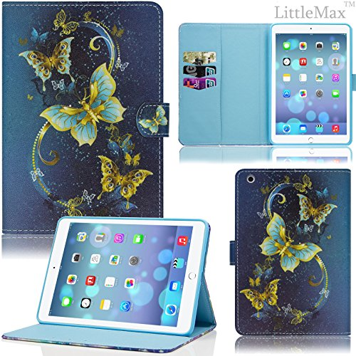 iPad Mini Case - LittleMax(TM) Smart Auto Wake/Sleep - Cell Phone Cushion Holder