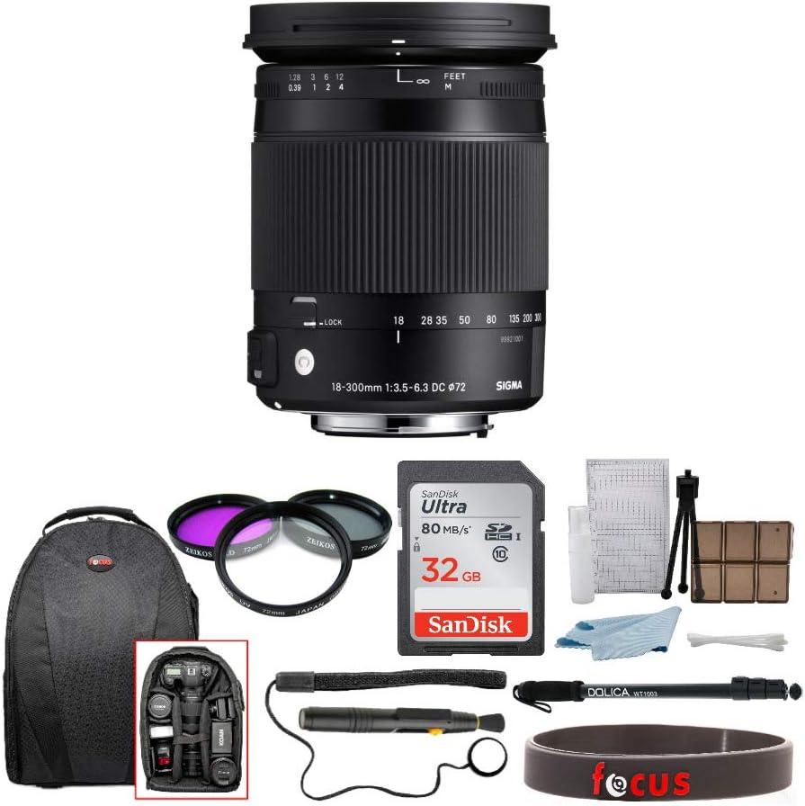 Sigma 18 300 Mm F3 5 6 3 Dc Macro Os Hsm Für Canon W Kamera