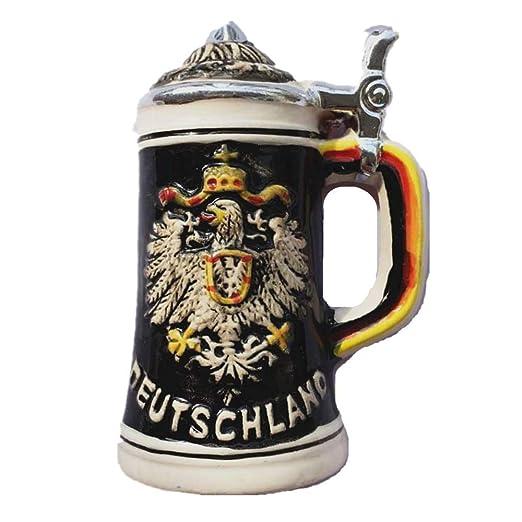 MUYU Magnet 3D Deutschland - Taza de Cerveza Alemana Souvenir imán ...